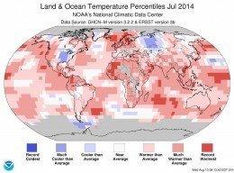 land og havtemperaturer