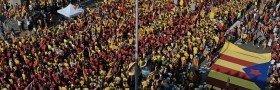 Barcelona: 1.800.000 demonstrerte for uavhengighet