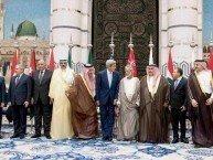 John Kerry sammen med sine allierte diktatorer