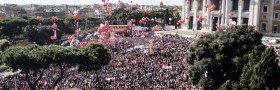 Roma: Èn million mennesker i demonstrasjon mot den økonomiske politikken