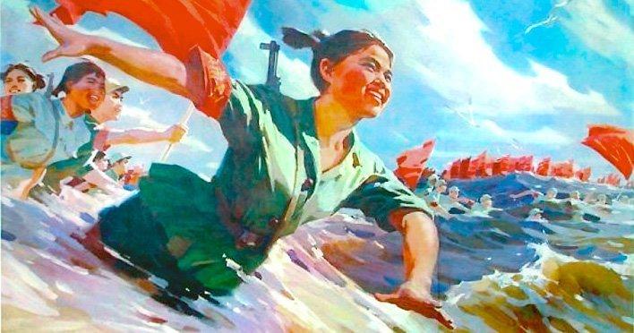 kommunisme kvinne