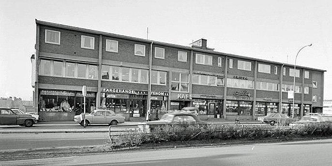 Samvirkelagskafeen på Hasle der Tron Øgrim og Pål Steigan i oktober 1968 bestemte seg for å starte avisa Klassekampen