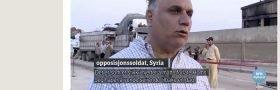 Under over alle undere: NRK innrømmer feil, om Syria.