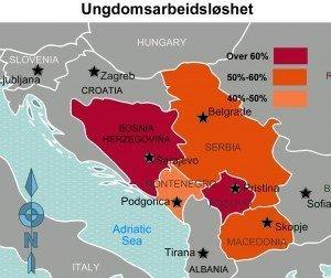 Kilde: Verdensbanken. Kart: PS