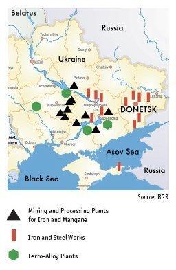 ukraina industri kart