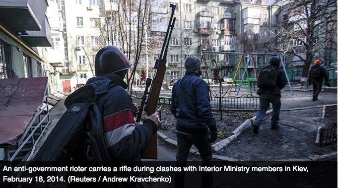 ukraina væpnet opprør