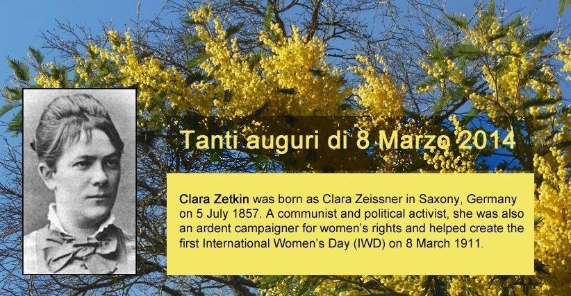clara zetkin 8 mars