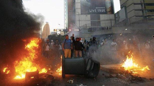 barrikade venezuela