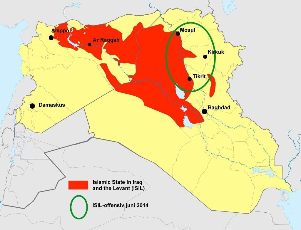 ISIL Irak Syria_