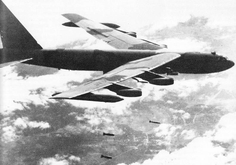 Et B52-fly bomber Vietnam