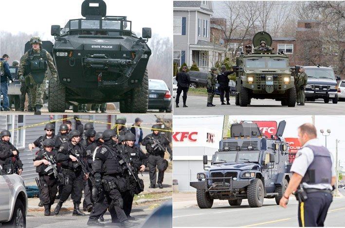 militarisert politi