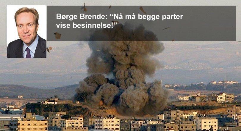 Brende Gaza