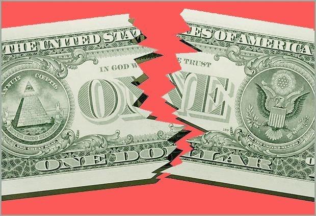 dollarens fall
