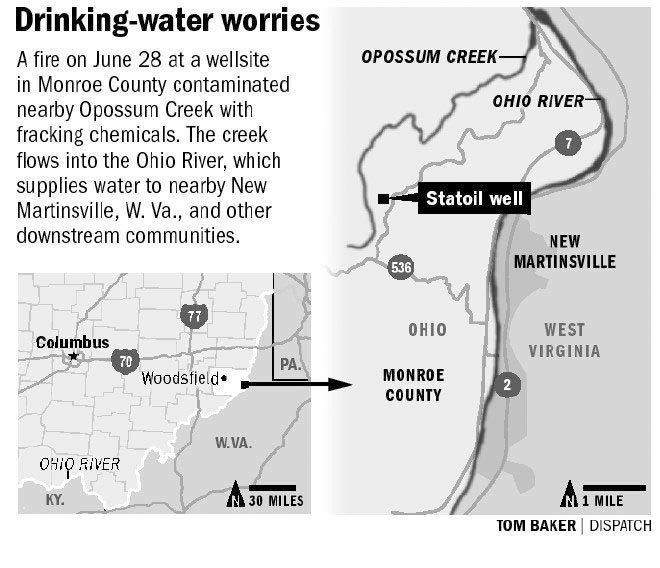 statoil drinking water ohio