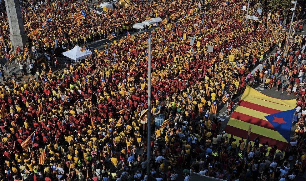 Barcelona demonstrasjon