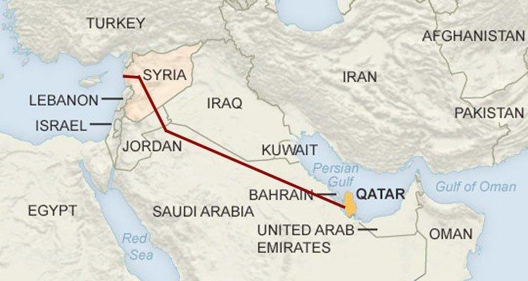 qatar pipeline