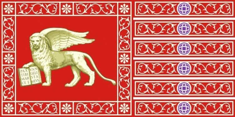 Venezias tradisjonelle flagg