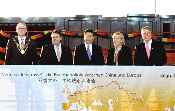 Fra Xi Jinpings reise til Tyskland