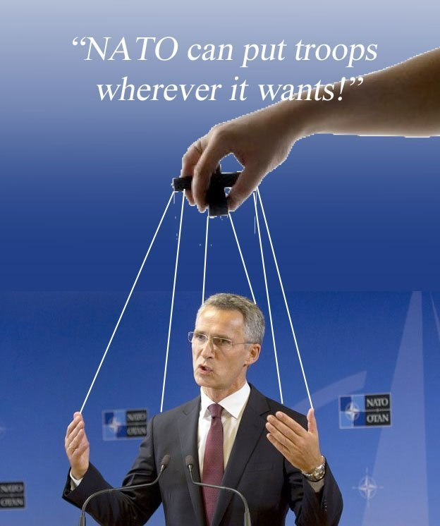 Stoltenberg i NATO