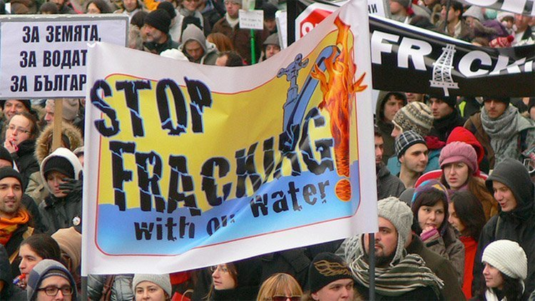 anti-fracking bulgaria