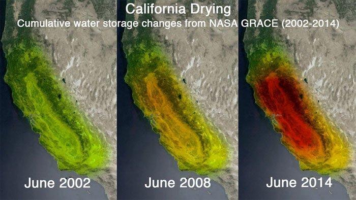 california drying