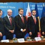 Signing of th association agreement, EU, Ukraine, Moldova