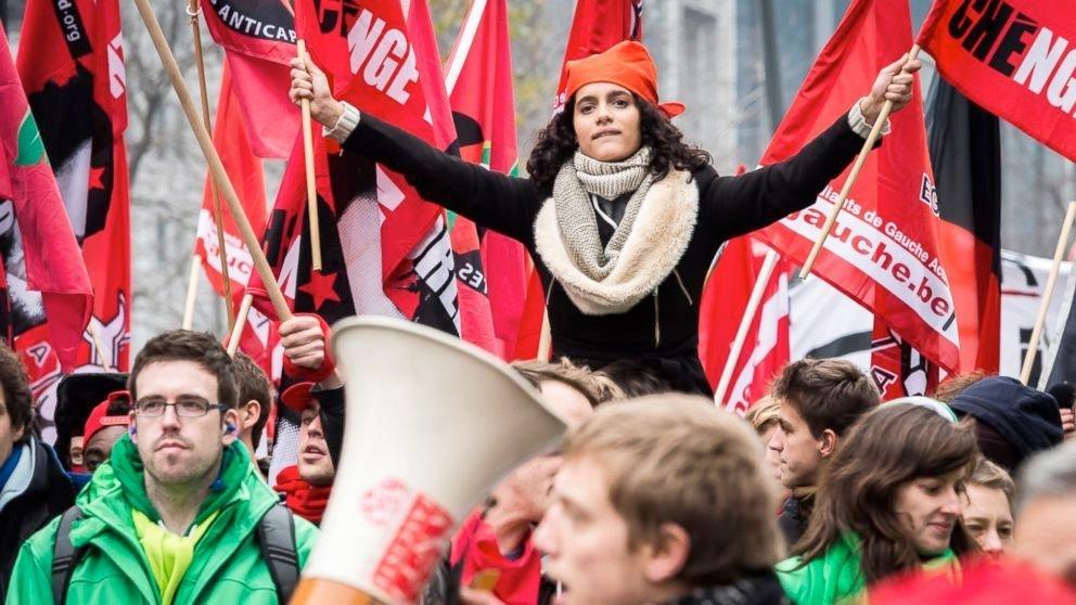 belgia protest