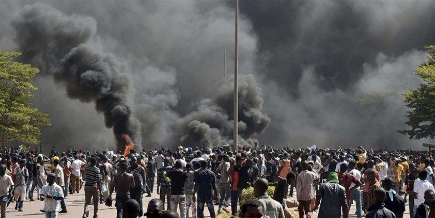 burkina opprør