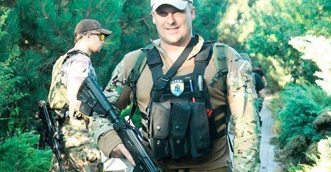 Vadim Troyan i Azov-bataljonen