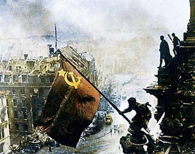 Den røde armé inntar Berlin