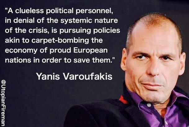 Yanis Varoufakis om eu