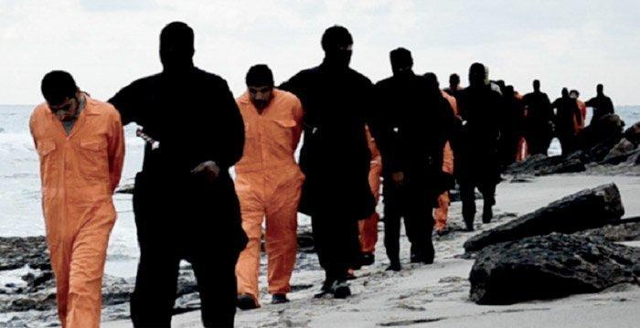 Den islamske staten har halshogd 21 koptiske gisler i Libya