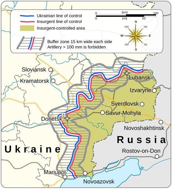 minsk-avtale kart