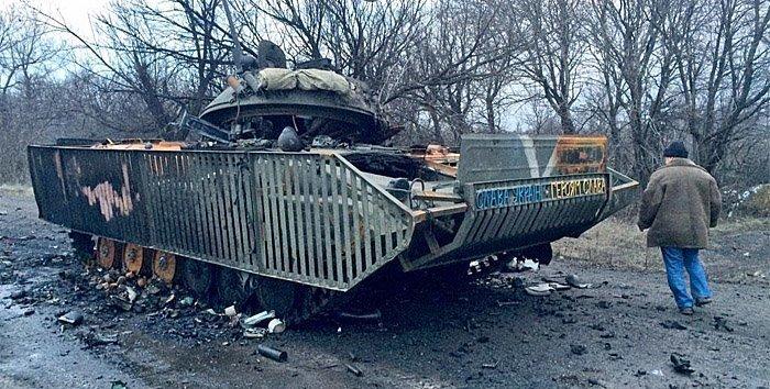 ukraina ødelagt tanks