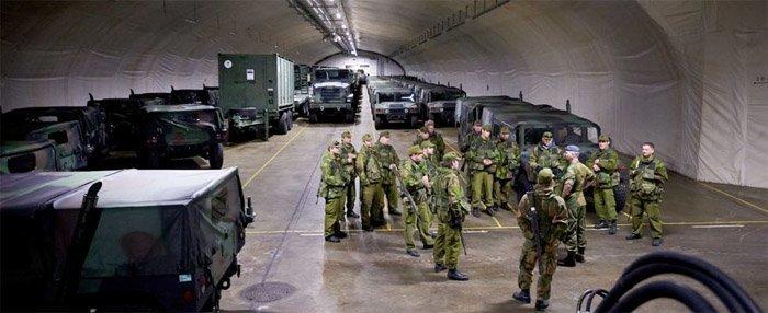 USA har tyngre våpen lagret i fjellhaller i Trøndelag