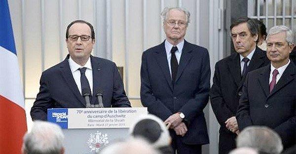 """Hollande taler om """"la théorie du complot"""""""