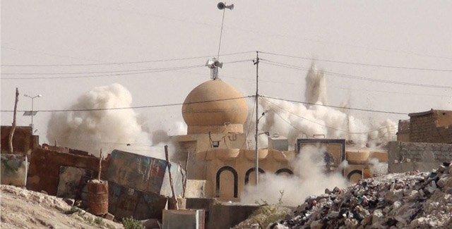 Den islamske staten ødelegger menneskehetens kulturarv i Syria og Irak