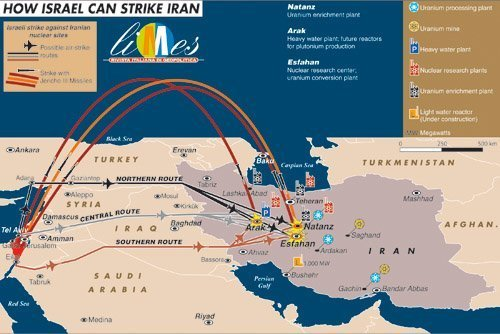 israel iran bombing