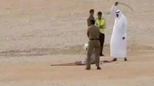 Halshogging i Saudi Arabia