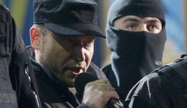 Dmitro Jarosj på Maidan