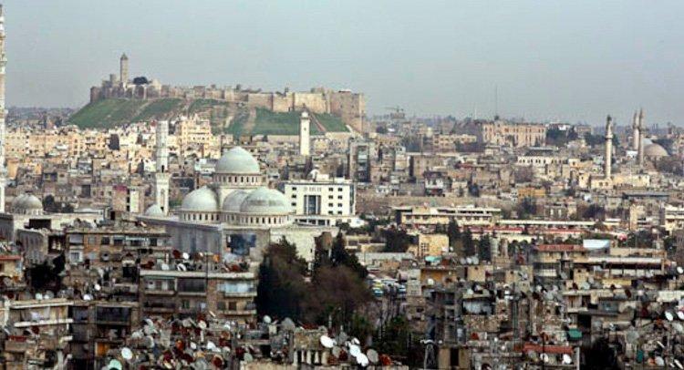 Aleppo var en vakker by før krigen