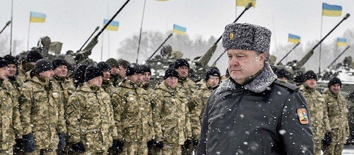 porosjenko tropper ukraina