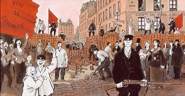 Le Cri du peuple, Jacques Tardi (2001) Pariserkommunen