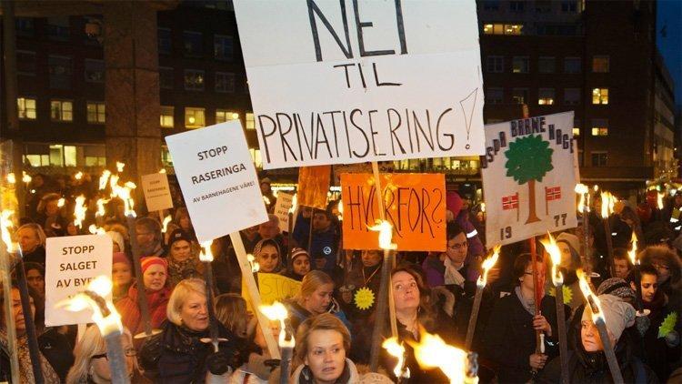 barnehager privatisering