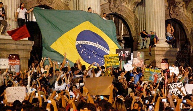 Middelklasseprotest i Brasil