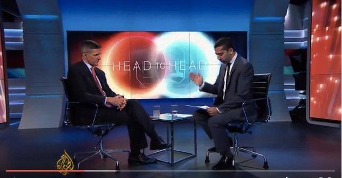 Michael Flynn intervjues av al Jazeera