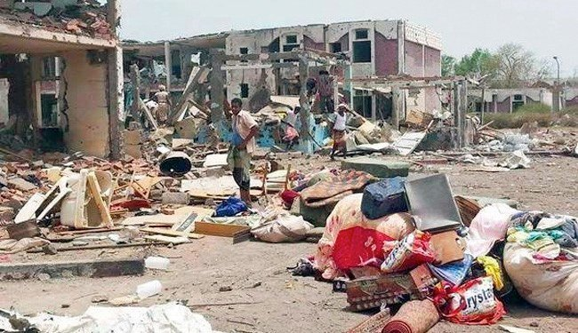 Åtte sivile drept av saudiarabiske bombefly i Lahij i Jemen