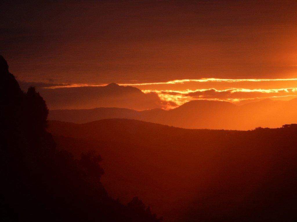 Monte Velino om morgenen