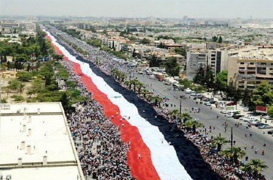 2,3 km syria flagg