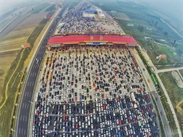 biltrafikk kina